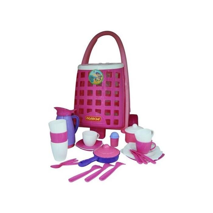 Набор Palau Toys детской посуды Забавная тележка + (31 элем.), (44389_PLS)