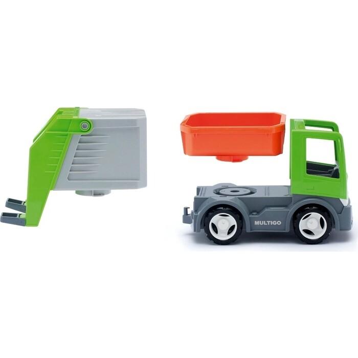 Мусоровоз EFKO со сменным кузовом игрушка 22 см, (37053EF-CH)