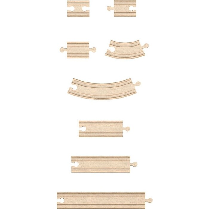 Набор Hape рельсов, (E3707_HP)