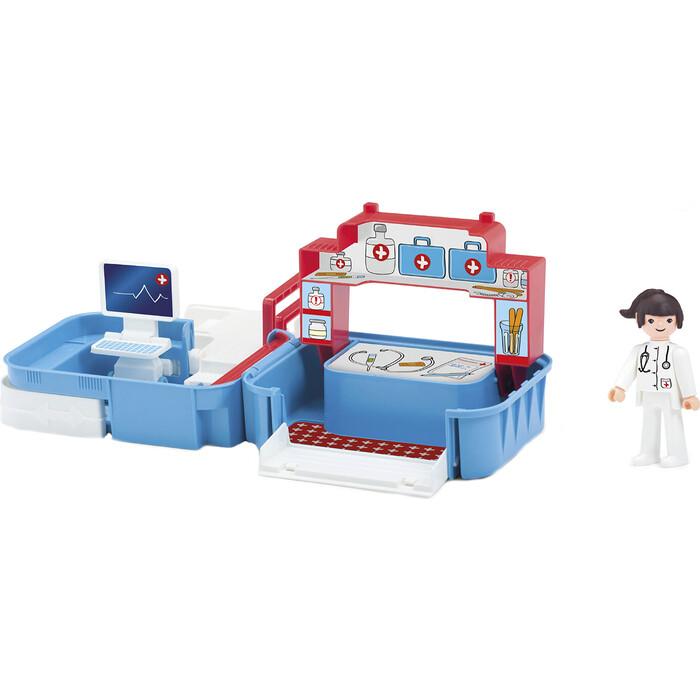 Игровой Набор EFKO больница с фигуркой медсестрой в чемоданчике, (32214EF-CH)