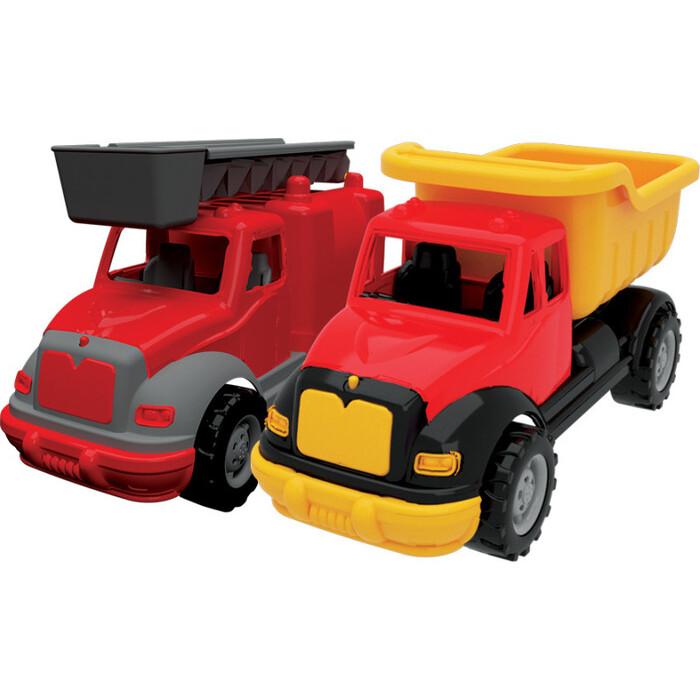 Набор Terides Грузовик и Пожарная машина 30см, (Т8-007)