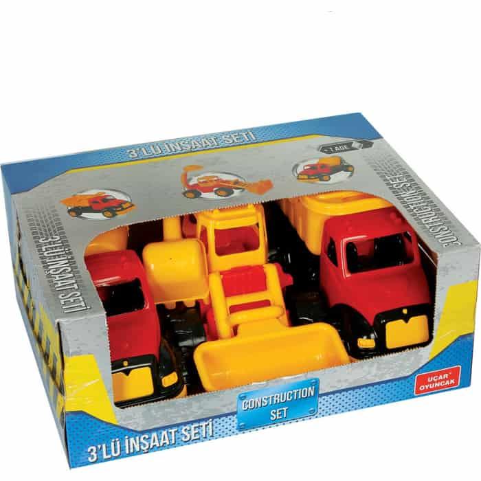 Набор Terides из 3-х строительных машин в коробке, (Т8-106)