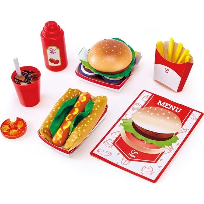 Игровой Набор Hape Fast Food, (E3160_HP)