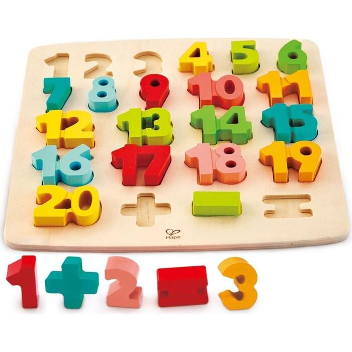Головоломка-мозаика Hape Математическая, (E1550_HP)