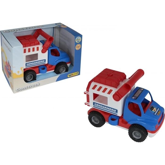 Автомобиль Wader КонсТрак - жандармерия, (в коробке), (46536_PLS)