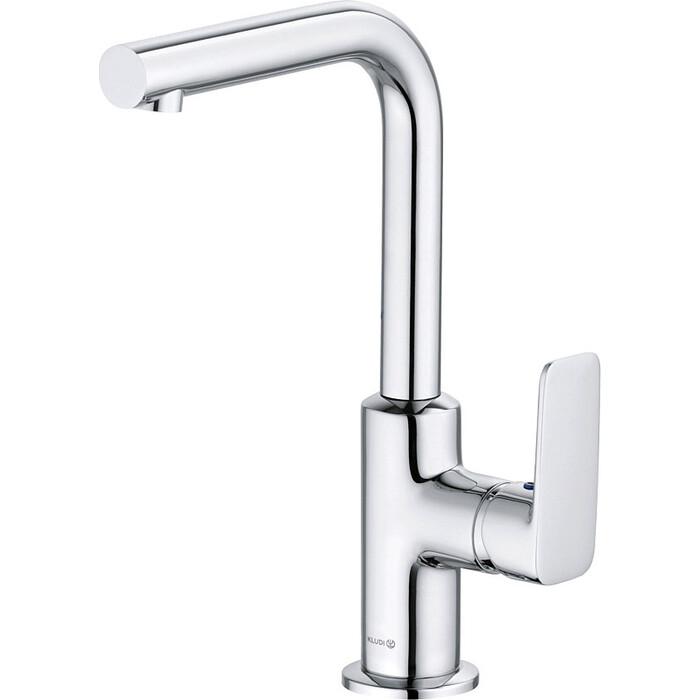Смеситель для раковины Kludi Pure&Style с донным клапаном (400250575)