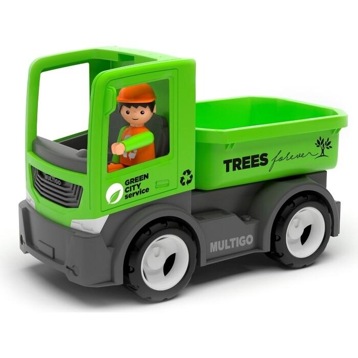 Городской грузовик с водителем EFKO игрушка 22 см, (27287EF-CH)