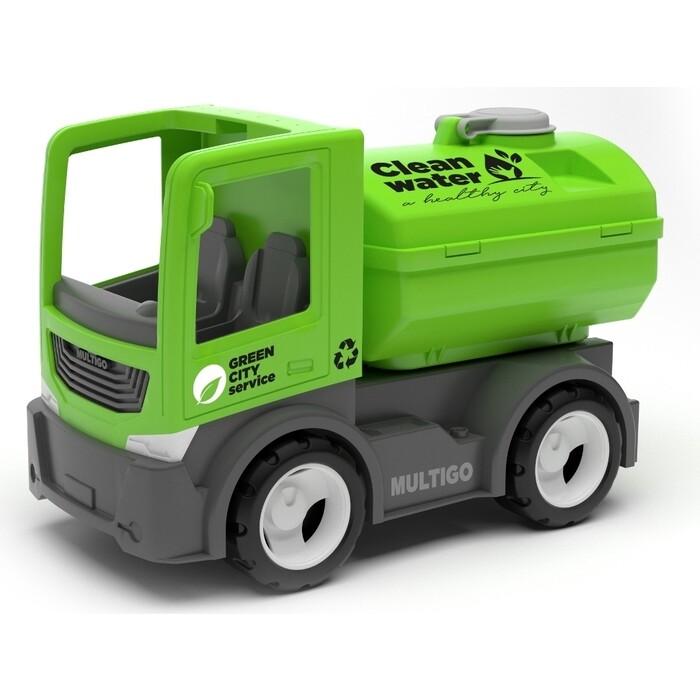 Городской грузовик с цистерной EFKO игрушка 22 см, (27085EF-CH)