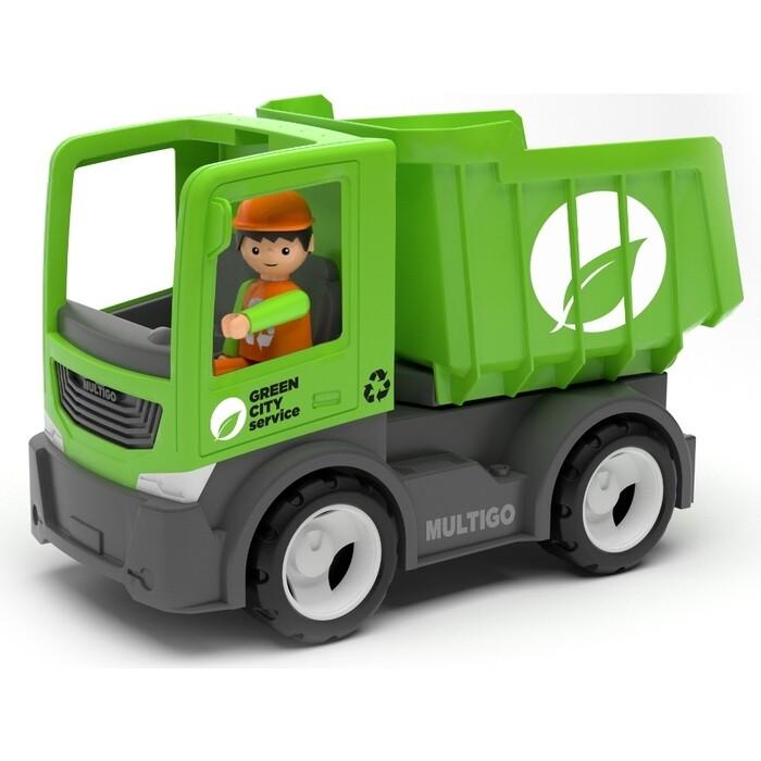 Городской самосвал с водителем EFKO игрушка 22 см, (27286EF-CH)