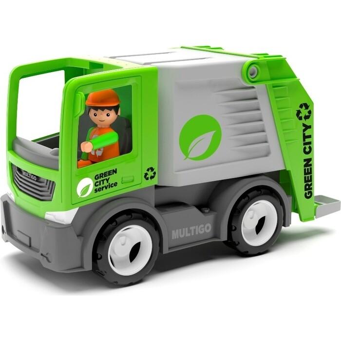 Машина мусоровоз с водителем EFKO игрушка 22 см, (27283EF-CH)