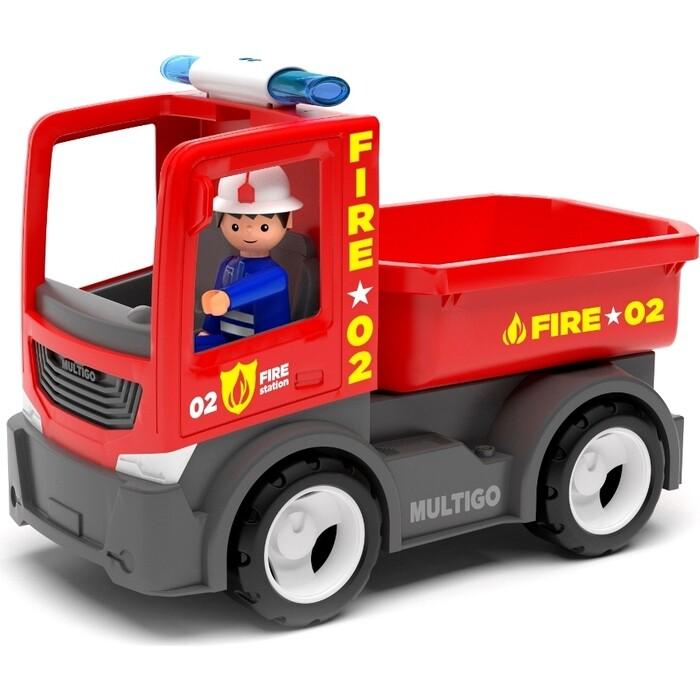 Пожарный грузовик EFKO игрушка с водителем 22 см, (27284EF-CH)