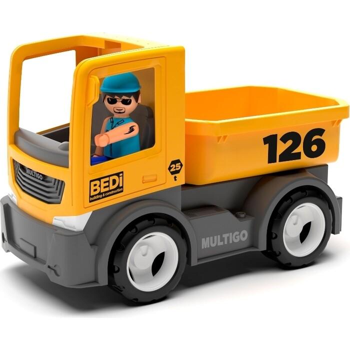 Строительный грузовик с водителем EFKO игрушка 22 см, (27276EF-CH)