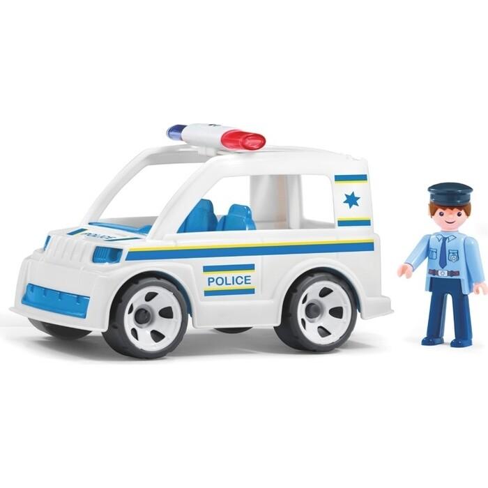 Полицейский автомобиль с водителем EFKO игрушка 17 см, (33211EF-CH)