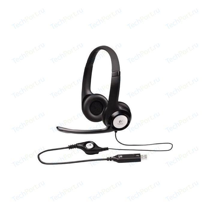 Гарнитура Logitech Stereo Headset H390, USB (981-000406)