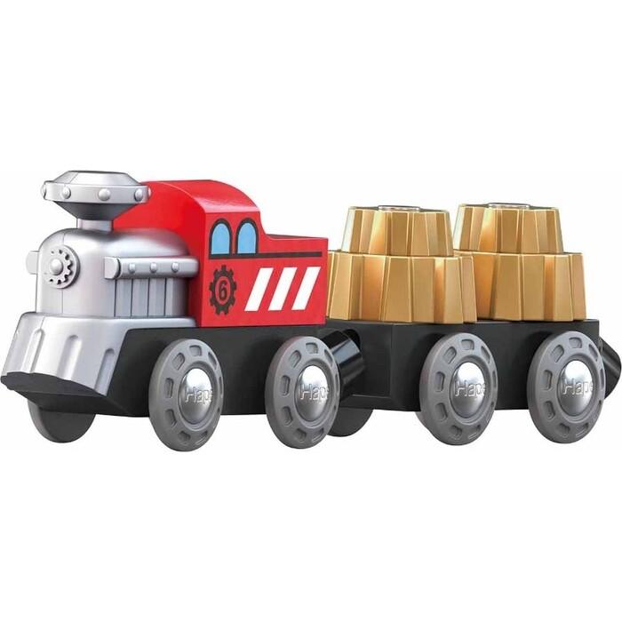 Поезд Hape Зубчатый, (E3751_HP)