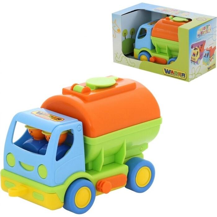 Автомобиль с цистерной Wader Мой первый грузовик (в коробке), (40145_PLS)