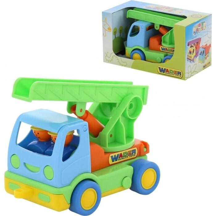Автомобиль пожарный Wader Мой первый грузовик (в коробке), (40152_PLS)