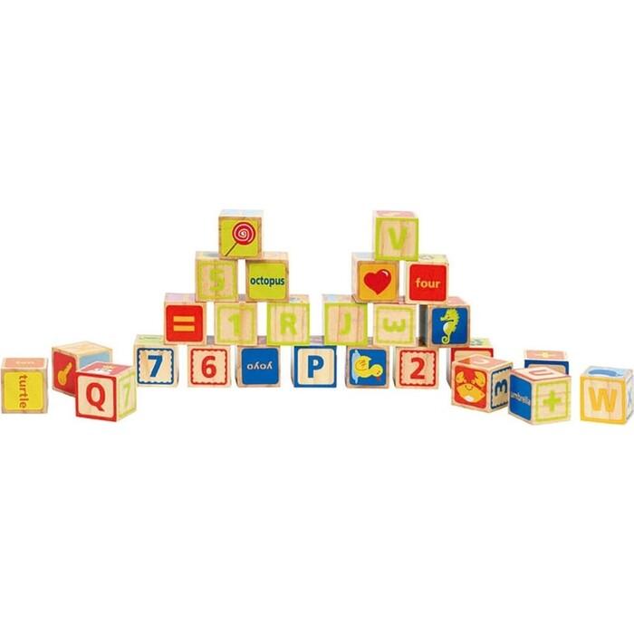 Игрушка кубики Hape ABC, (E0419_HP)