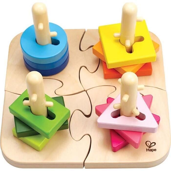 Игрушка головоломка Hape Творческая, (E0411_HP)