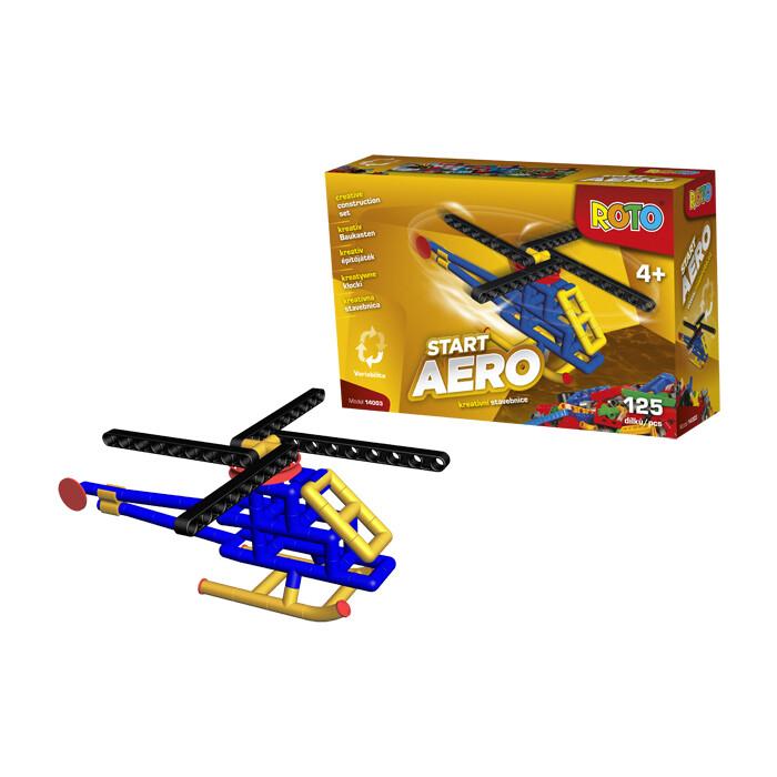 Игрушка Конструктор EFKO РОТО Вертолет 125 деталей, (14003EF-CH)
