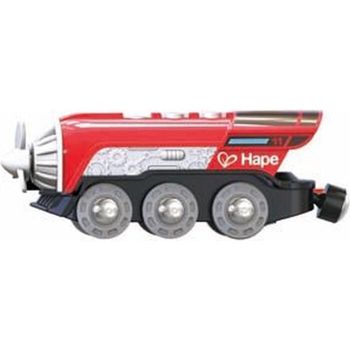 Поезд Hape с пропеллером, на батарейках, (E3750_HP)