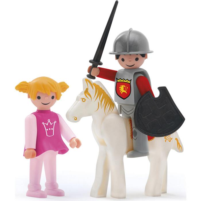 Фигурки с аксессуарами EFKO Рыцарь и принцесса 3 фигурки 8 см, (36214EF-CH)
