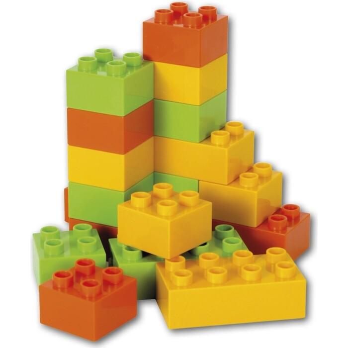 Строительные кубики EFKO 18 штук для грузовика 22 см, (37126EF-CH)