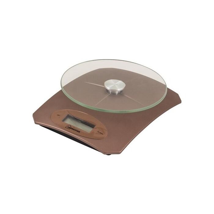 Весы кухонные HOMESTAR HS-3002 коричневые кухонные весы homestar hs 3008 черный