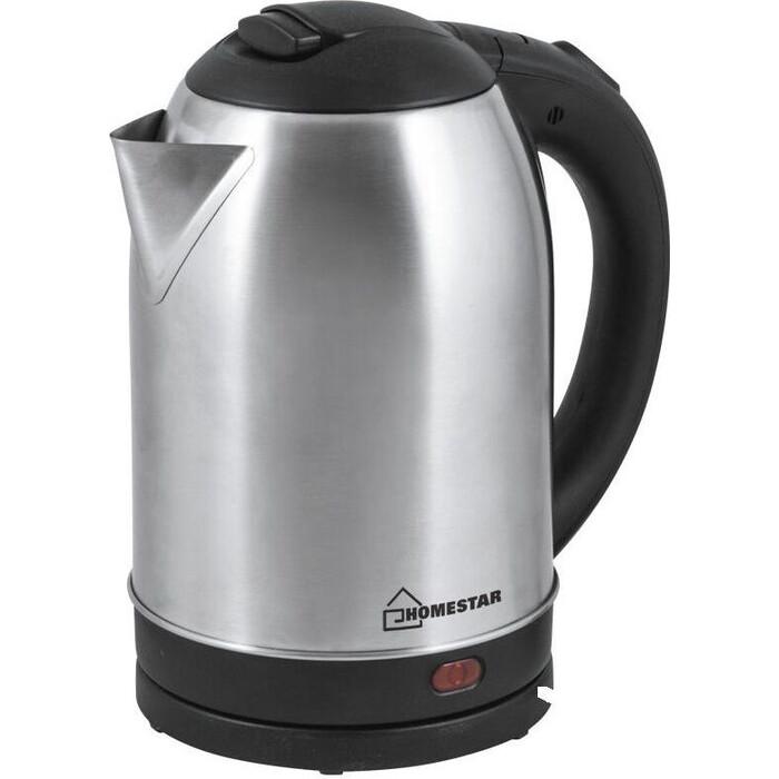 Чайник электрический HOMESTAR HS-1009 стальной