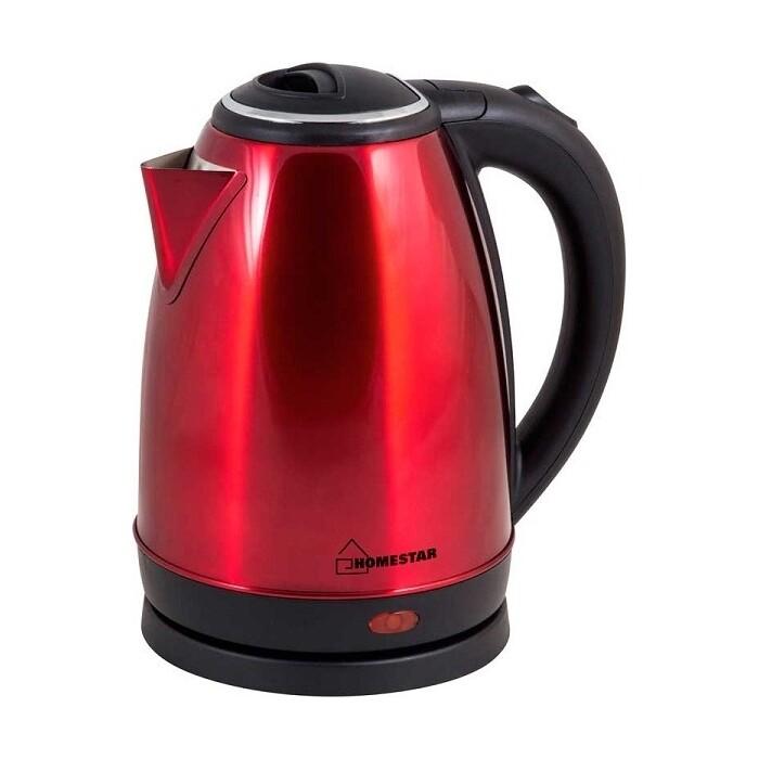 Чайник электрический HOMESTAR HS-1010 красный