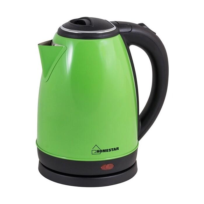 Чайник электрический HOMESTAR HS-1010 зеленый