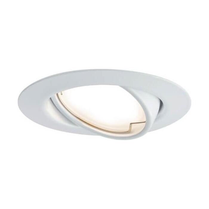 Фото - Светильник Paulmann Встраиваемый светодиодный Base Coin 93413 встраиваемый светодиодный светильник paulmann 92537