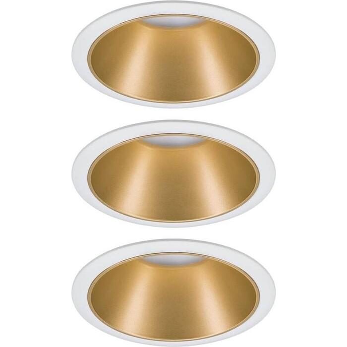 Светильник Paulmann Встраиваемый светодиодный Cole Coin 93406