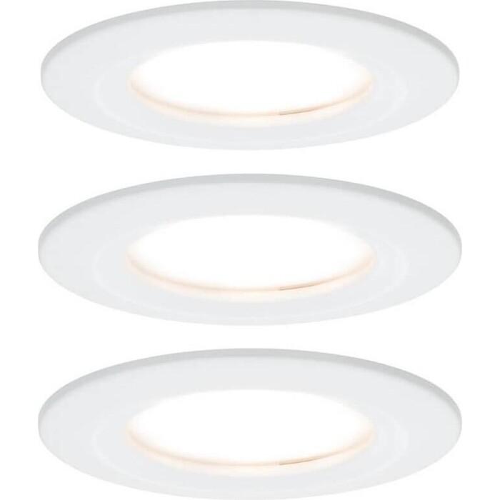 Светильник Paulmann Встраиваемый светодиодный Nova Coin Led 93460 светильник paulmann встраиваемый светодиодный base coin led 93423