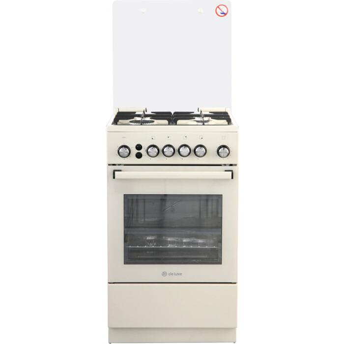 Газовая плита De Luxe 5040.40Г (КР) ЧР-013 комбинированная плита de luxe 5040 40гэ кр чр
