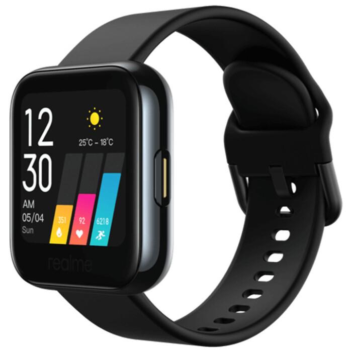 Realme Watch 35мм 1.4 черный