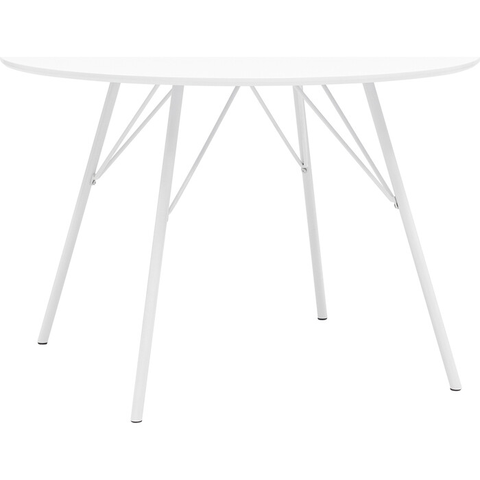 Стол обеденный Stool Group Мемфис 110 белый DT-1810-110 DUAL