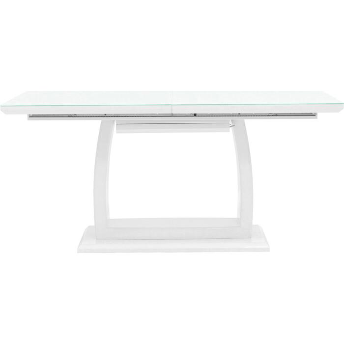 Стол обеденный Stool Group Орлеан раскладной глянцевый белый ET-1621-160-HGW DUAL