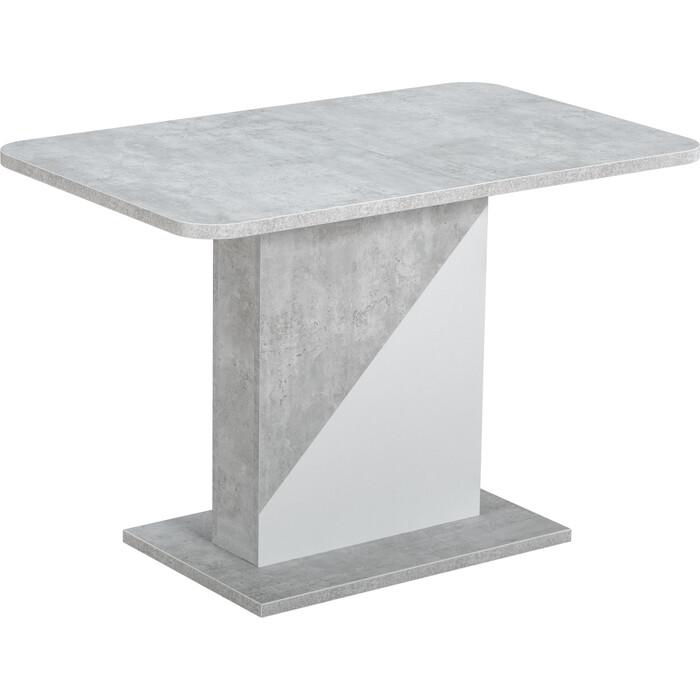 Стол Stool Group Accent бетон/белый 80.559.01 818