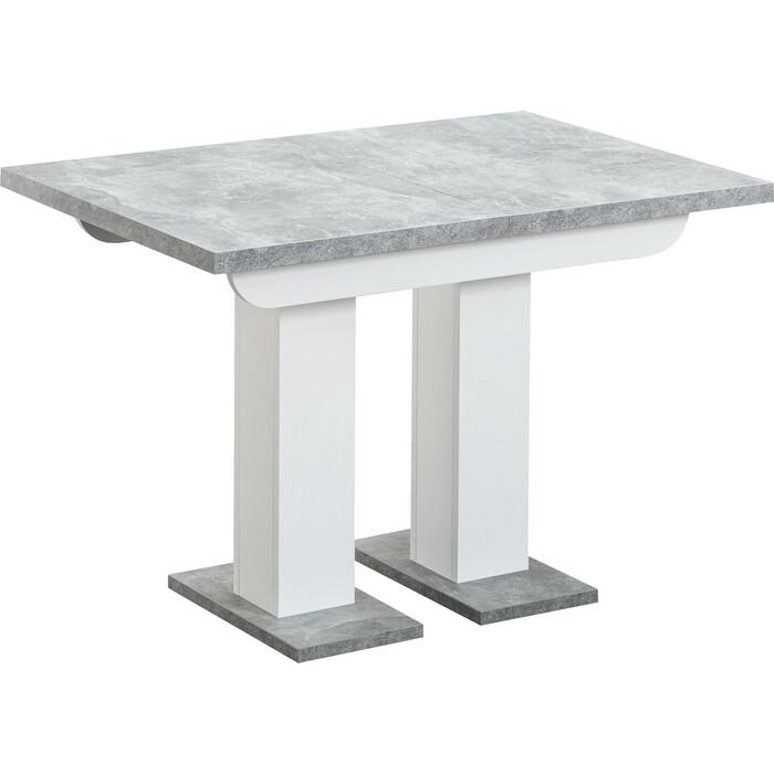 Стол Stool Group Clyde бетон/белый 80.545.01 8005 DUAL