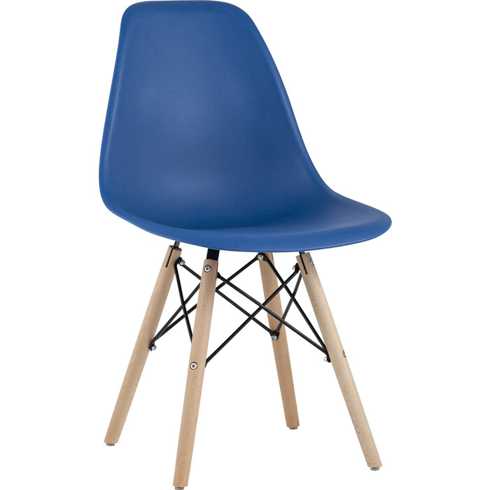 Стул Stool Group Eames синий Y801 navy X4