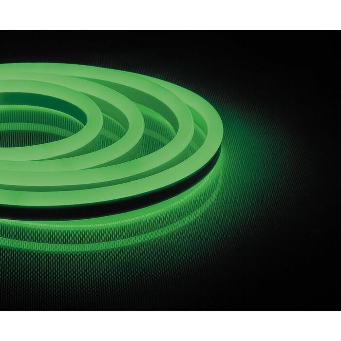 Лента Feron Светодиодная неоновая влагозащищенная 12W/m 144LED/m 2835SMD зеленый 50M LS721 32714