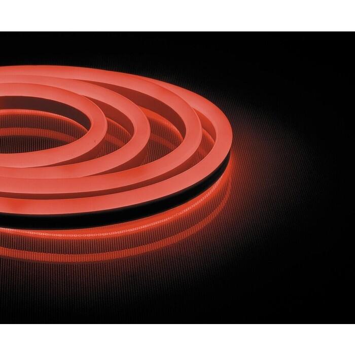 Лента Feron Светодиодная неоновая влагозащищенная 12W/m 144LED/m 2835SMD красный 50M LS721 32712