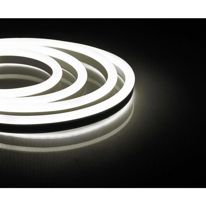 Лента Feron Светодиодная неоновая влагозащищенная 12W/m 144LED/m 2835SMD теплый белый 50M LS721 32711