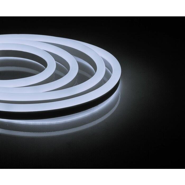 Лента Feron Светодиодная неоновая влагозащищенная 12W/m 144LED/m 2835SMD холодный белый 50M LS721 32710