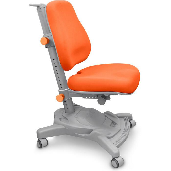 Кресло Mealux Onyx Mobi (Y-418) KY обивка оранжевая однотонная