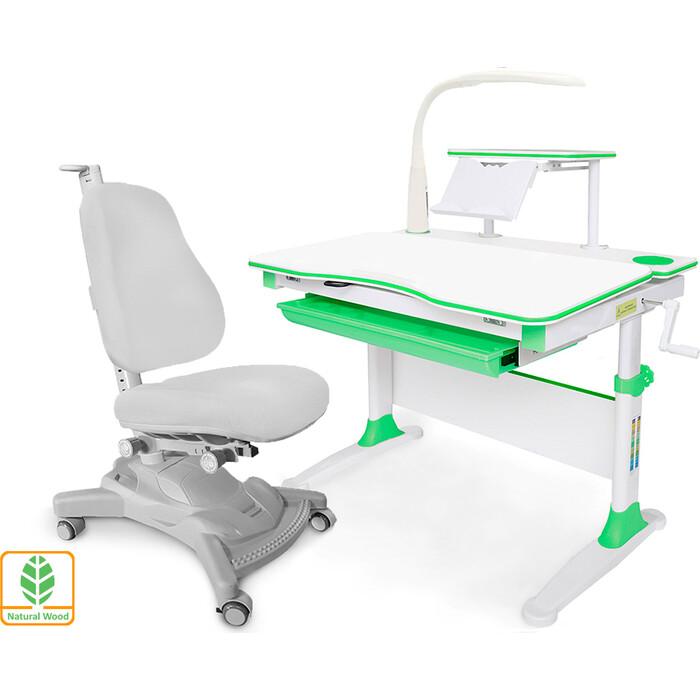 Комплект (стол+полка+кресло+чехол+лампа) Mealux Evo-30 Z (Evo-30 + Y-418 G) дерево