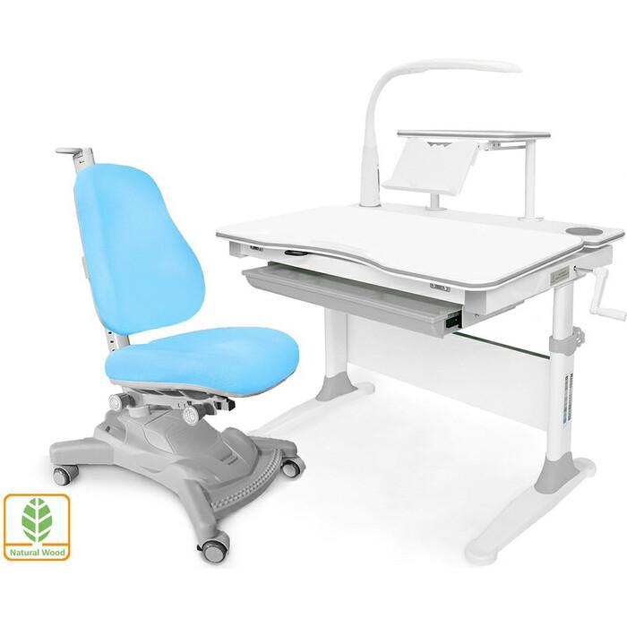 Комплект (стол+полка+кресло+чехол+лампа) Mealux Evo-30 G (Evo-30 + Y-418 KBL) дерево