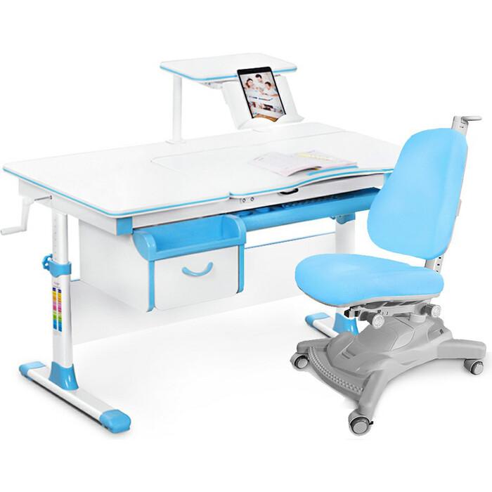 Комплект (стол+полка+кресло+чехол) Mealux Evo-40 BL (Evo-40 + Y-418 KBL)