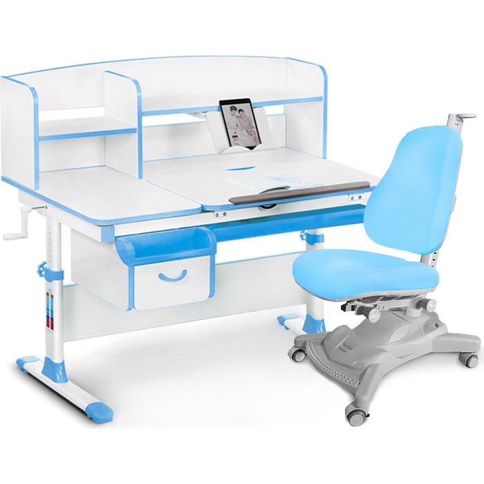 Комплект (стол+полка+кресло+чехол) Mealux Evo-50 BL (Evo-50 + Y-418 KBL)